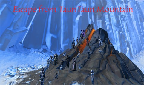 Escape from TaunTaun Mountain