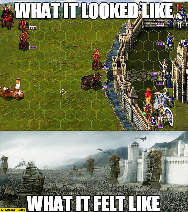 Heroes Of Might And Magic 3 What It Looked Like Vs What