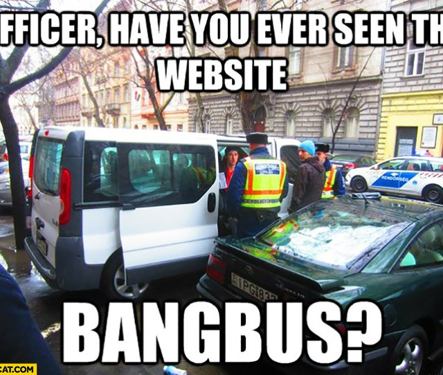 Officer Have You Ever Seen The Website Bangbus Police Controlling A Bus