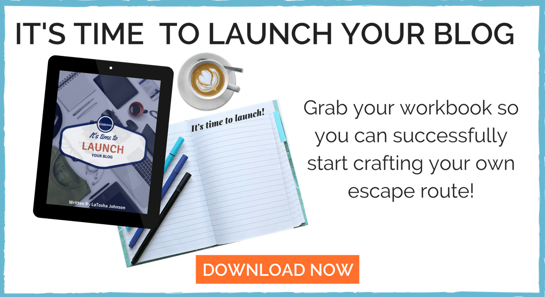 Starengu It's Time to Launch Your Blog Workbook
