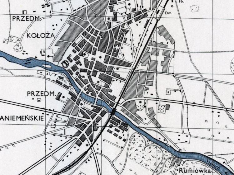 Plan Miasta Grodna z 1943r.