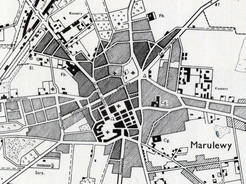 Plan Miasta Inowrocławia z 1943r.