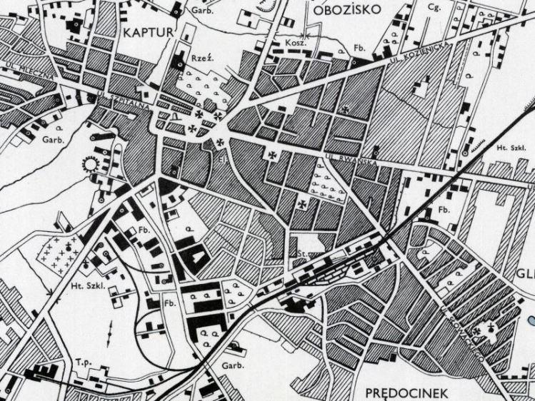 Plan Miasta Radomia z 1943r.
