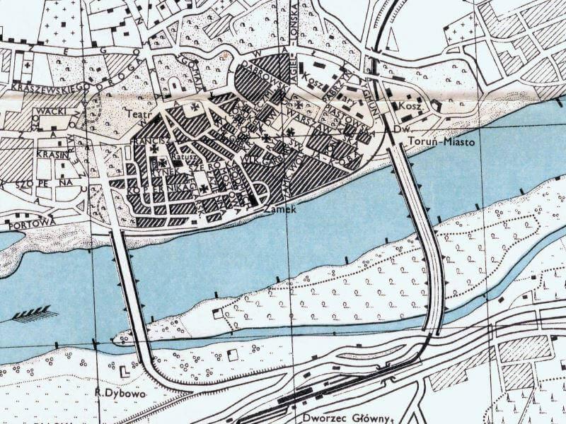 Plan Miasta Torunia z 1943r.