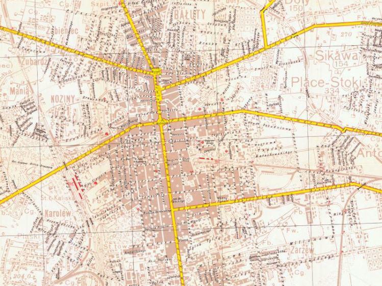 Plan Miasta Łodzi z 1939r.