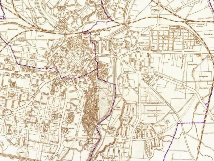 Plan Miasta Legnicy z 1939r.