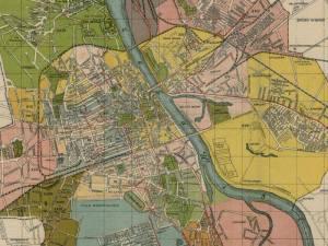 Plan Miasta Warszawy z 1920r.