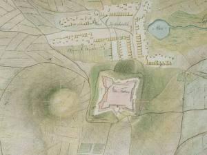 Plan Fortecy Jasnogórskiej z 1790r.