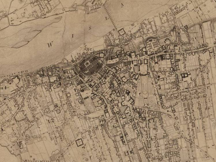 Plan Miasta Warszawy z 1808r.