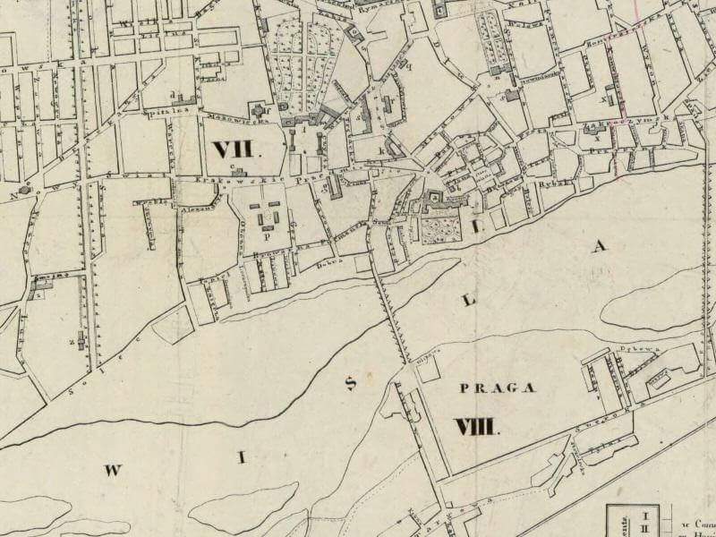 Plan Miasta Warszawy z 1832r.