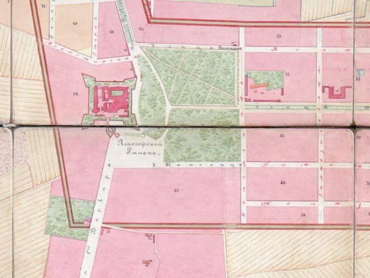 Plan Miasta Częstochowy z 1878r.