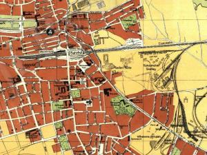 Plan Miasta Zabrza z 1930r.
