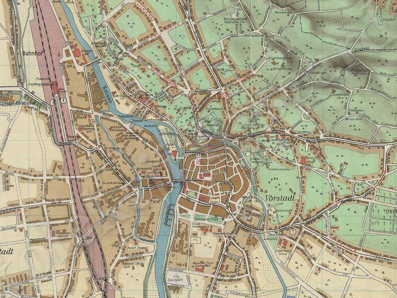 Plan Miasta Gubina z 1939r.