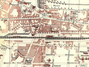 Plan Miasta Katowic z 1904r.