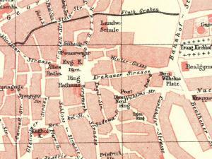Plan Miasta Tarnowskich Gór z 1904r.