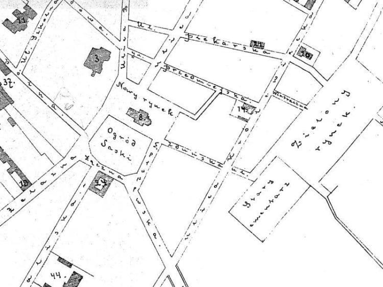 Plan Miasta Włocławka z 1911r.