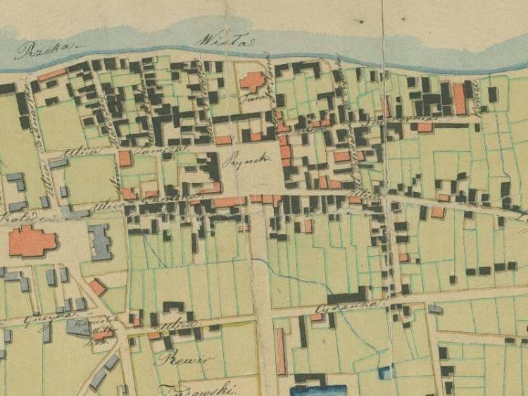Plan Miasta Włocławka z 1818r.