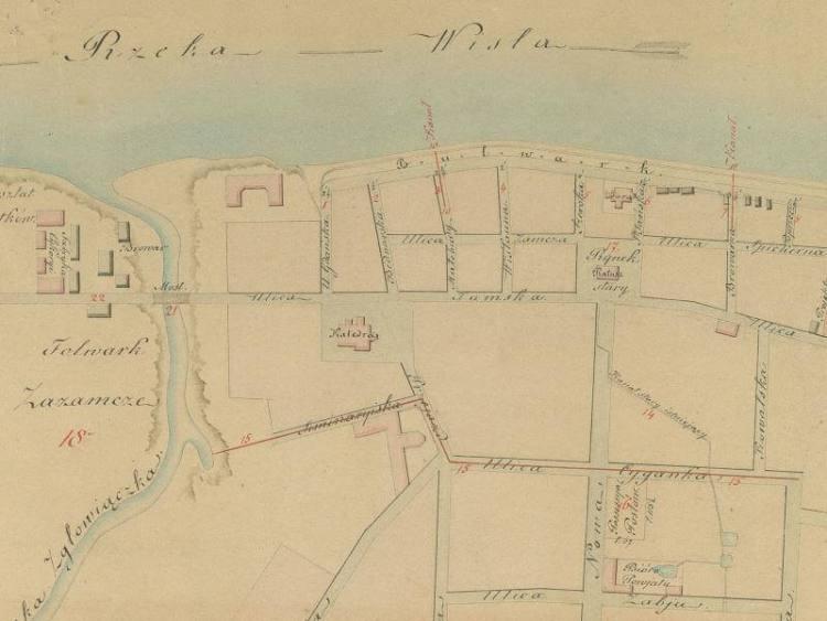 Plan Miasta Włocławka z 1844r.