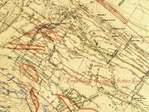 Mapa Górnicza Wałbrzycha z 1905r.
