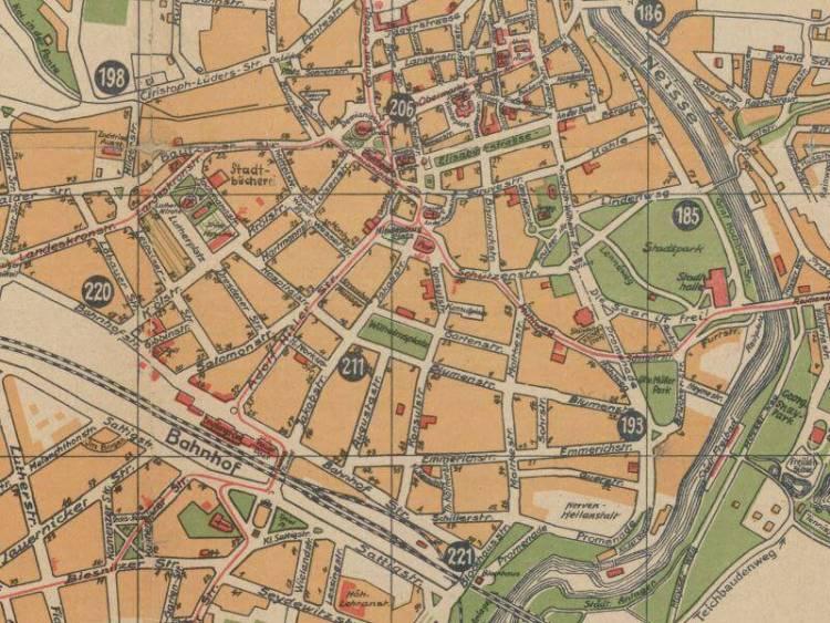 Plan Miasta Zgorzelca z 1937r.