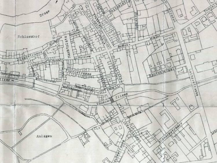Plan Miasta Złocieńca z 1928r.
