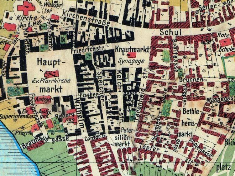 Plan Miasta Złotowa z 1925r.