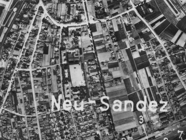 Zdjęcie Nowego Sącza z 1944r.