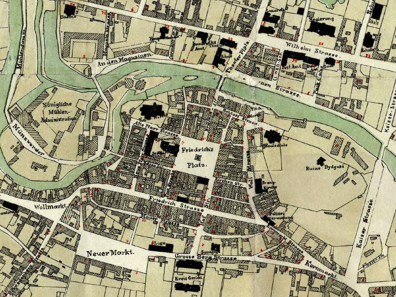 Plan Miasta Bydgoszczy z 1876r.