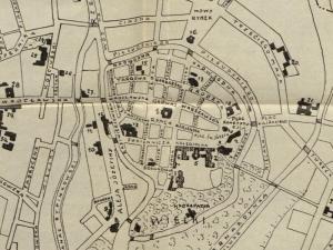 Plan Miasta Kalisza z 1927r.