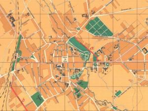 Plan Miasta Koszalina z 1934r.