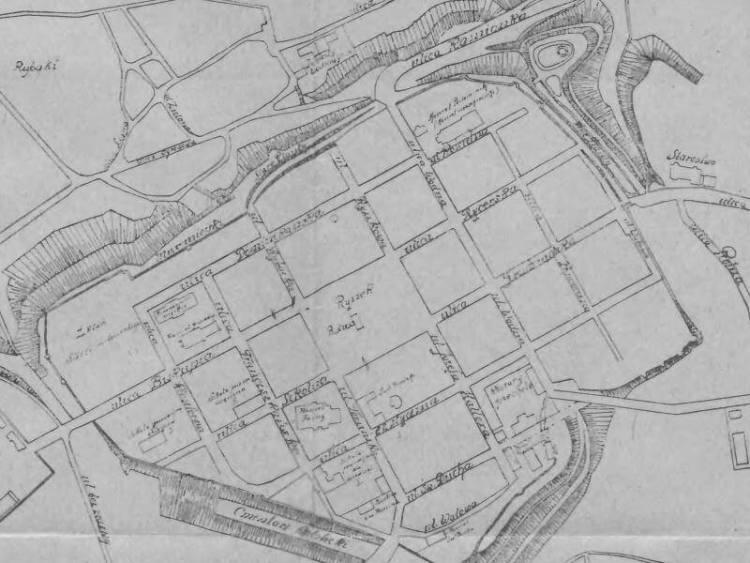Plan Miasta Chełmna z 1929r.