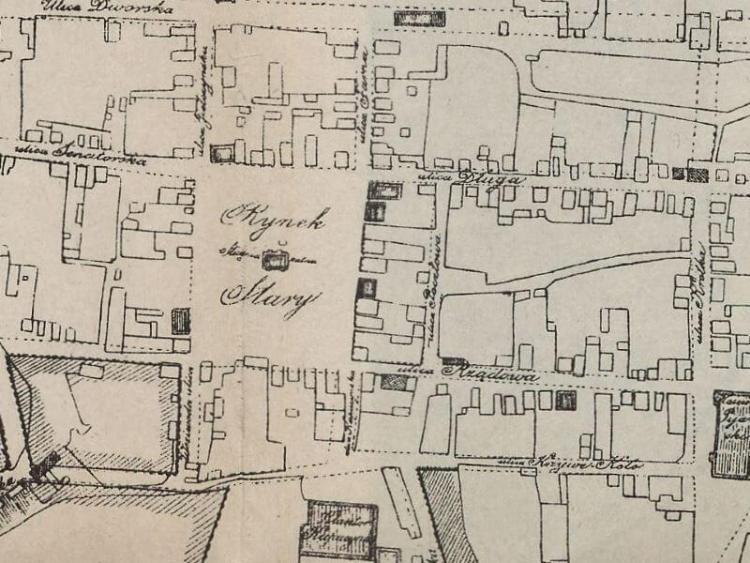 Plan Miasta Łomży z 1805r.