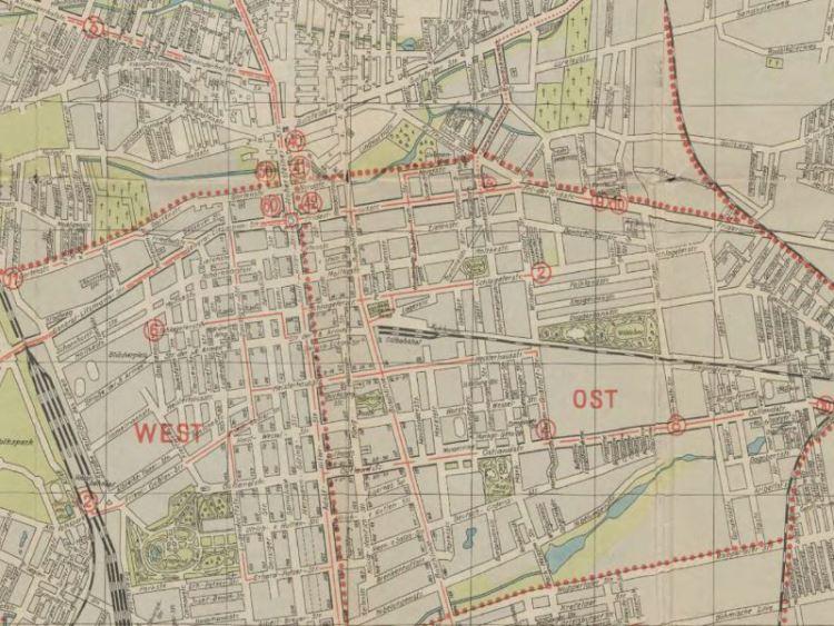 Plan Miasta Łodzi z 1941r.