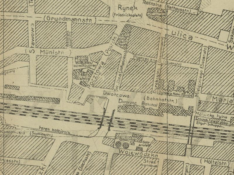 Plan Miasta Katowic z 1922r.