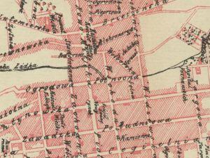 Plan Miasta Łodzi z 1903r.
