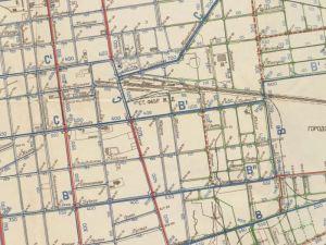 Plan Miasta Łodzi z 1909r.