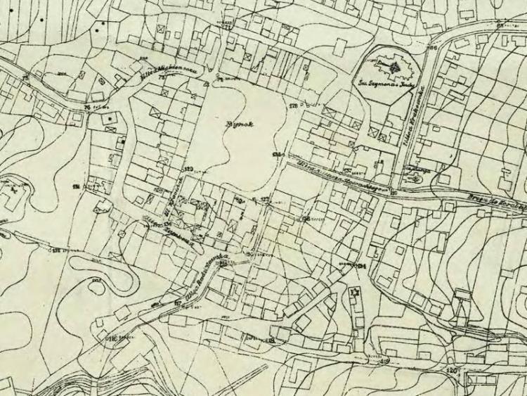 Plan Regulacyjny Skawiny z 1911r.