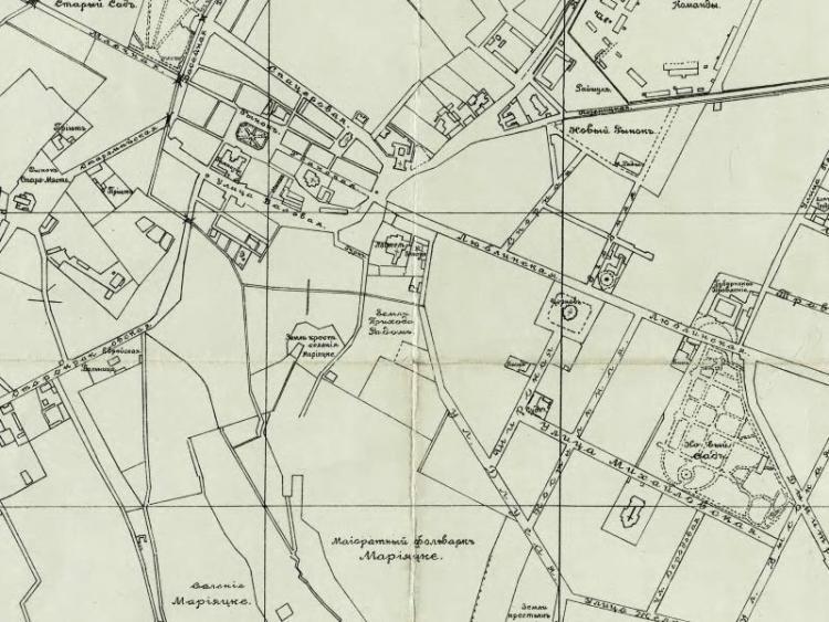 Plan Miasta Radomia z 1899r.