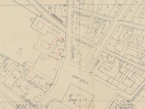 Plan Wloclawka 1920-1939