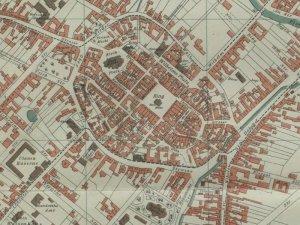 Plan Miasta Gliwic z 1902r.
