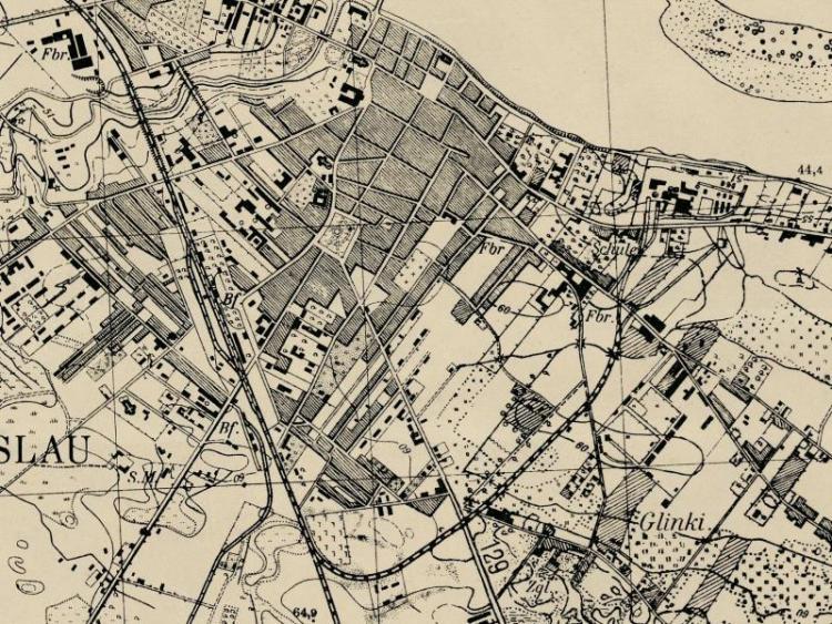 Mapa Włocławka z 1941r.