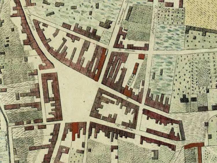 Plan Miasta Kielc z 1828r.
