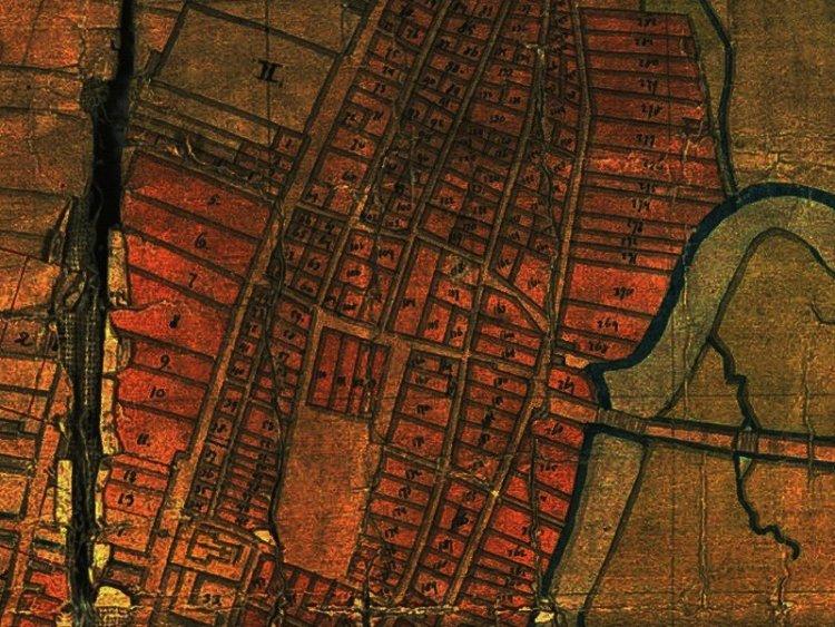 Plan Miasta Częstochowy z 1819r.
