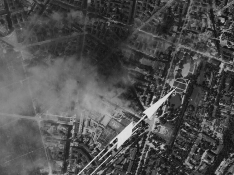 Zdjęcie Warszawy z 1944r.