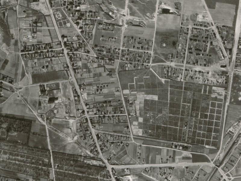 Zdjęcie lotnicze Łodzi z 1942r. (03)