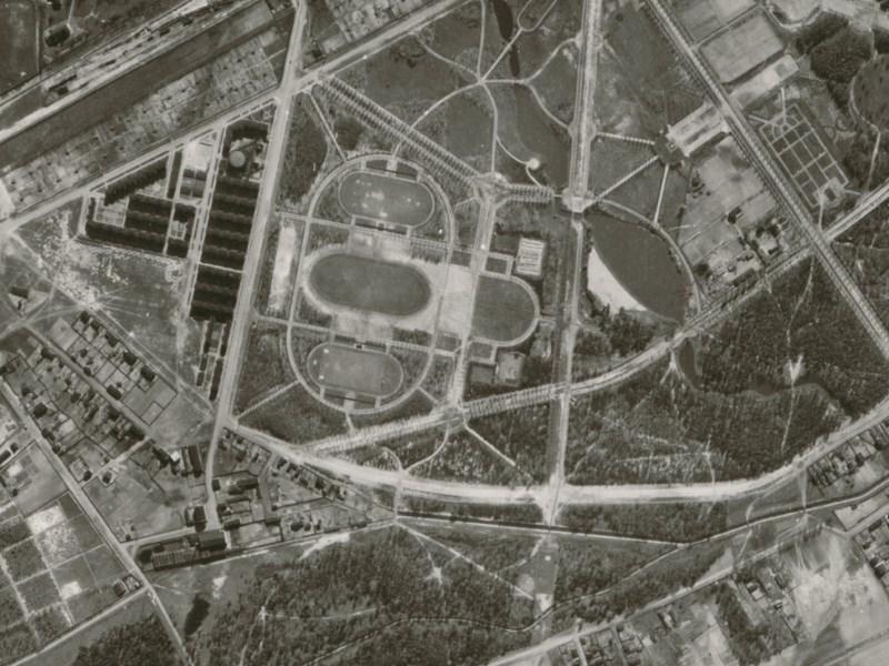 Zdjęcie lotnicze Łodzi z 1942r. (09)