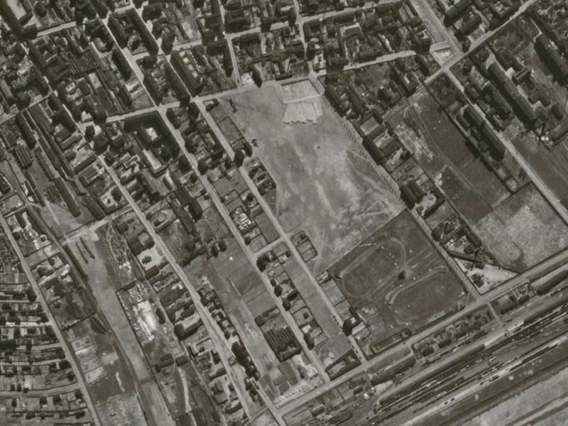 Zdjęcie lotnicze Łodzi z 1942r. (08)