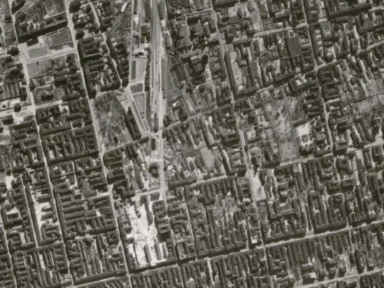 Zdjęcie lotnicze Łodzi z 1942r. (06)