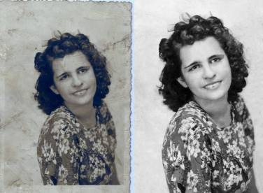 "1936 Another beautiful great-great aunt, Elia Peña Garcia. The photo was taken in Santa Clara, August 30, 1936 There are two dedications: In pen: ""With all my affection, for Ynocencia, and family. Elia Peña"" (dated as above) In pencil: ""Lovingly, for Minerva, from her aunt and godmother, Elia"" (undated)"