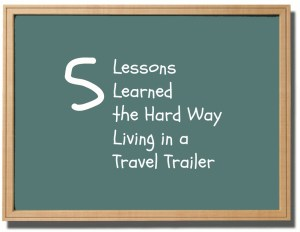 travel, trailer, living small, life on the road, traveling family